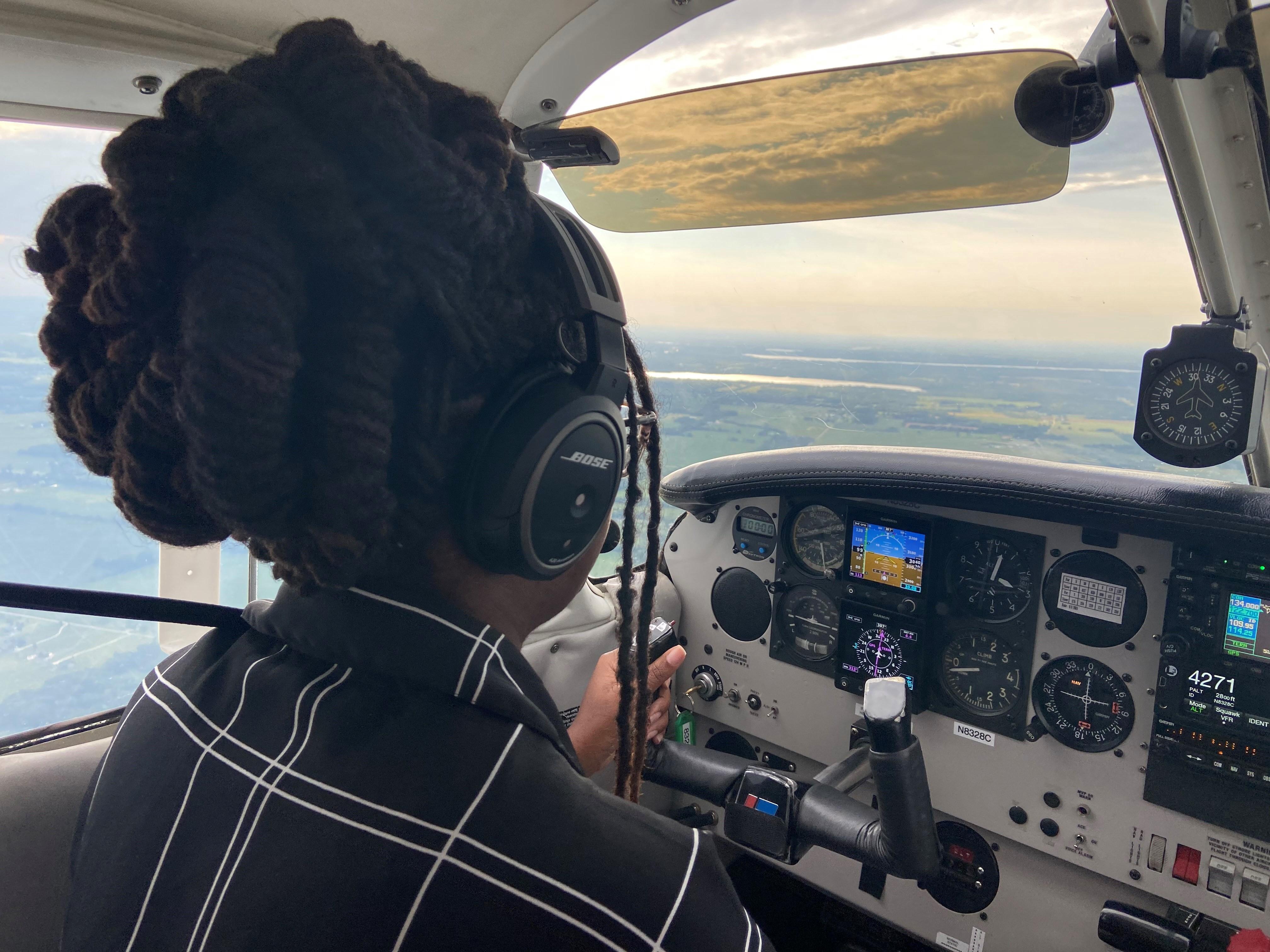Flying for Horizon Air