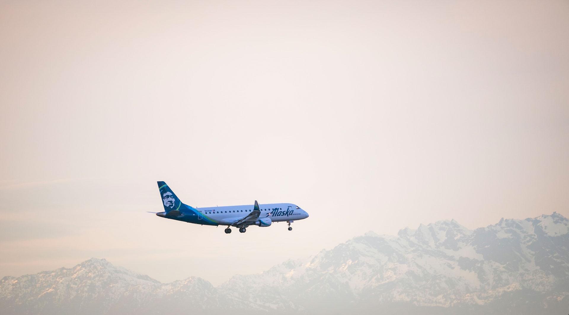A Horizon Air plane