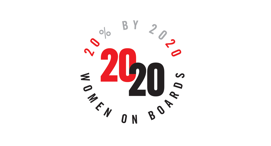 20/20 Women on Boards 2016 Winning Company, Awarded by 2020 Women on Boards