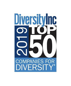 DiversityInc Top 10 2019 Regional Companies logo