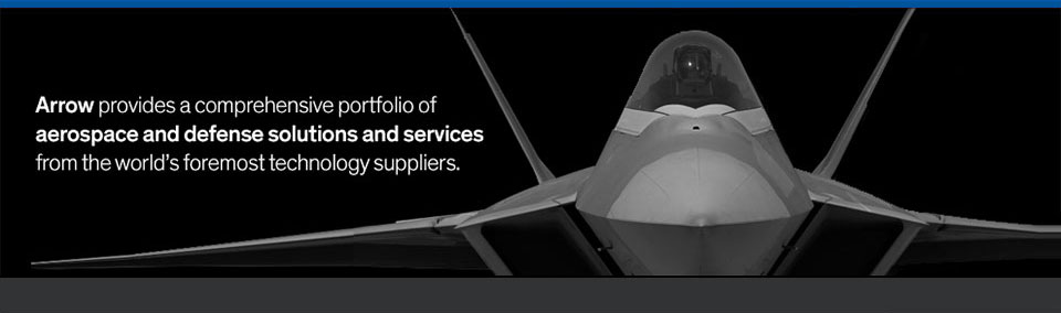Veterans banner - arrow provides a comprehensive portfolio of aerospace and defense solutions and services from the world's foremost technology suppliers.