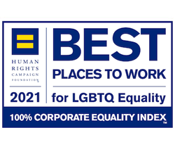 HRC Best Places To Work For LGBTQ Equality