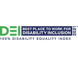 2021 Disability Equality Index - Best Place to work for disability inclusion