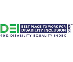2020 Disability Equality Index - Best Place to work for disability inclusion