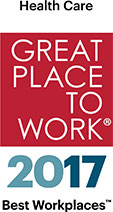 Great places to work healthcare Award