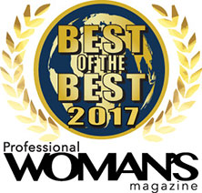 Best of the Best from Professional Women's Magazine award