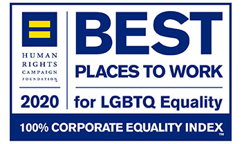 2020 Best Places to Work for LQBTQ Equality