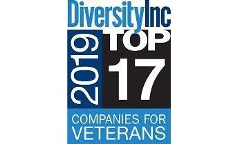 Diversity Inc. 2019 Top 17 Companies for Veterans
