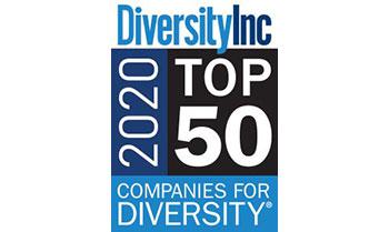 Diversity Inc 2020 Top 50 Companies for Diversity