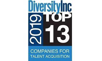 Diversity Inc 2019 Top 13 Companies for Talent Acquisition