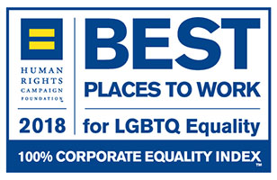 Human Rights Campaign Best Places to Work for LGBT Equality Logo