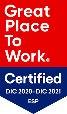Great Place to Work Spain Certified 2021