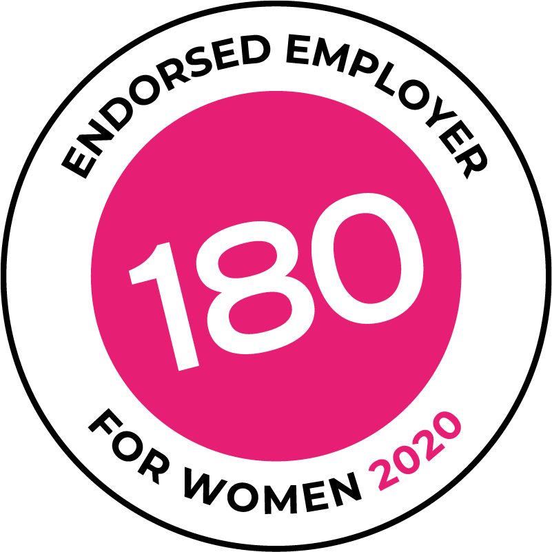180 Endorsed Employer For Women 2020