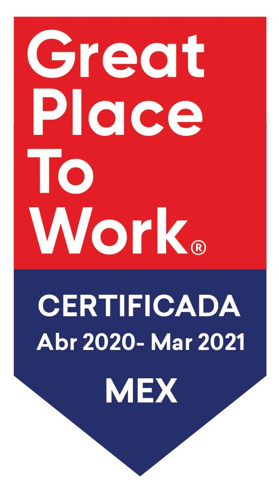 Mejores lugares para trabajar Mexico 2018-2021