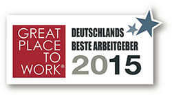 Great Place To Work 2015 Logo