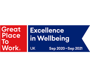 Great Place to Work Excellence in Wellbeing