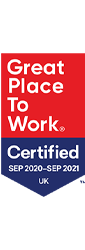 Great Place to Work Certified UK