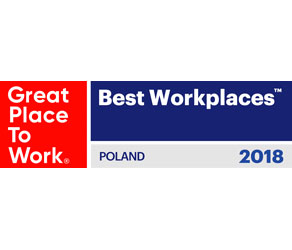 Great Place to Work Poland Logo