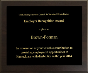 Kentucky Council for Vocational Rehabilitation Award
