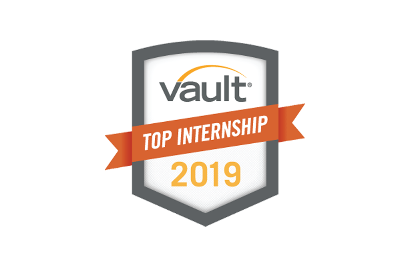 Vault Top Intership 2019