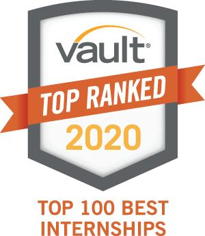 Vault 2020 Top 100 Best Internships