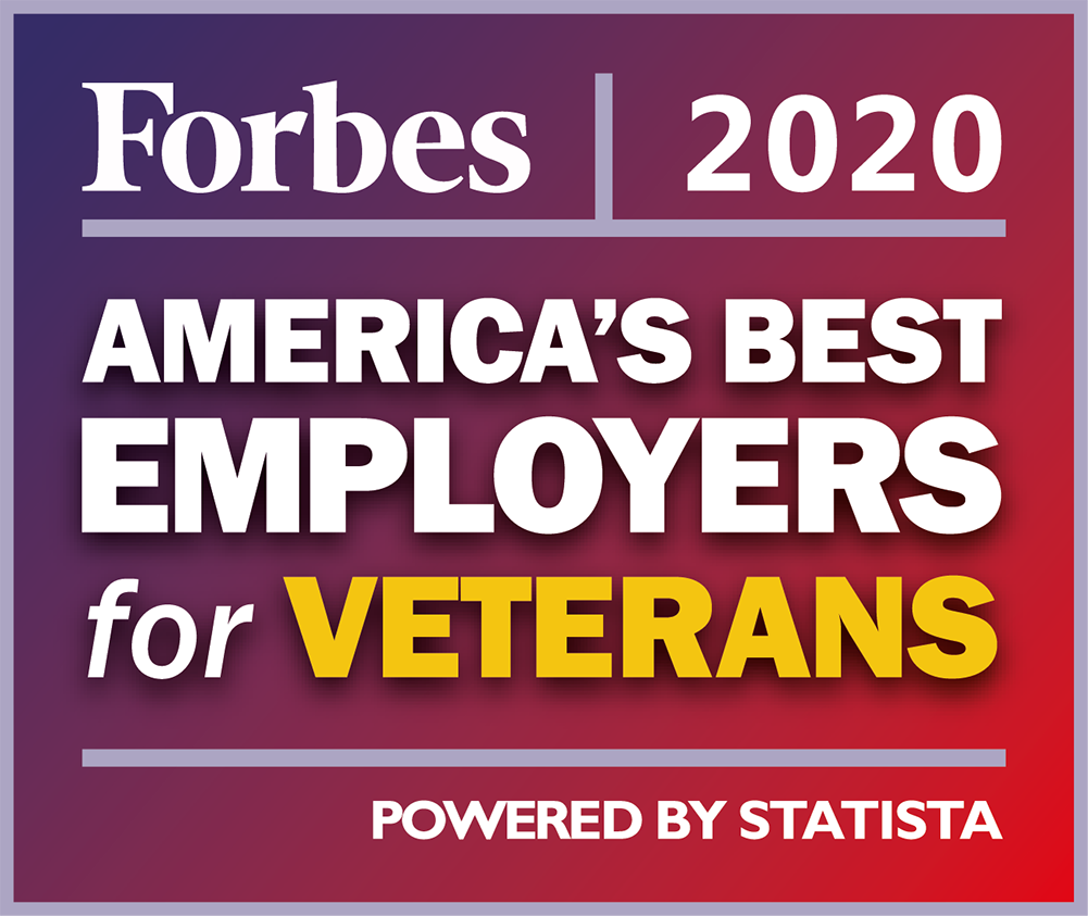 Forbes 2020: America's Best Employers for Veterans