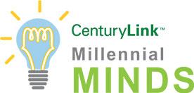 Centurylink millennial minds logo
