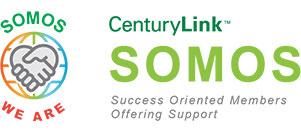 Centurylink success oriented members offering support logo