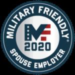 Military Friendly Spouse Employer Gold 2020