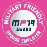 Military Friendly Spouse Employer Gold 2019