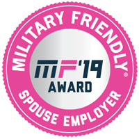 Military Friendly top 10 spouse employer 2019