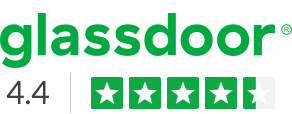 glassdoor - 4.4 rating