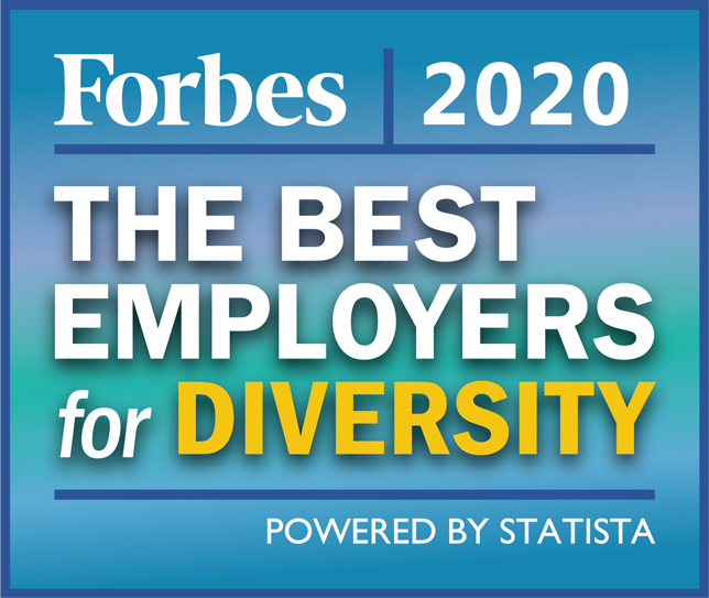 Forbes 2020 Best Employers For Diversity