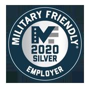 Military Friendly Employer 2020 Silver