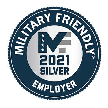 Military Friendly Employer 2021 Silver
