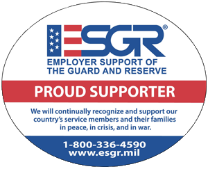 ESGR Proud Supporter