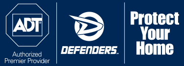 logo - ADT, defenders, protect your home