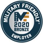 military friendly employer bronze 2020