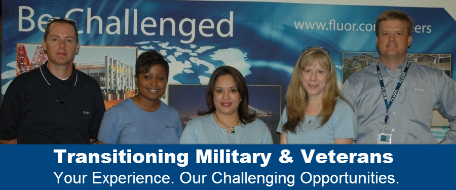 transitioning military veterans banner