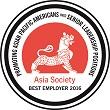 asia society best employer 2016