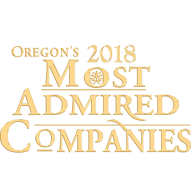 Oregon's 2018 Most admired Companies award