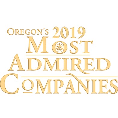 Oregon's 2019 Most admired Companies award