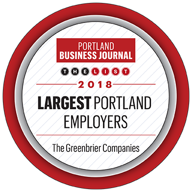 Portland Business Journal Largest Portland Employers award