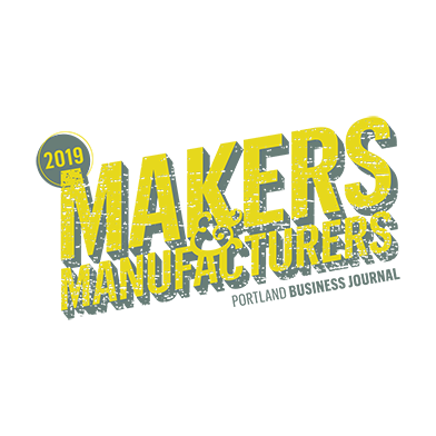 2019 Makers and manufacturers - Portland business journal award