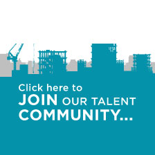 Join our talent community button
