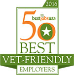 50 best vet-friendly employers award