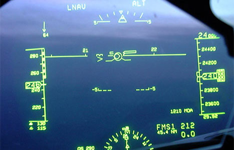 photo of Head Up Display (HUD)