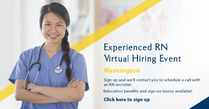 Kadlec Washington RN Virtual Hiring Event