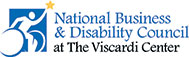 National Business and Disability Council mobile logo