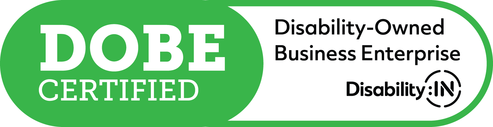Disability-Owned Business Enterprise Certified